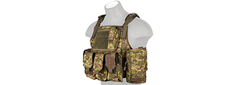 CA-305P TACTICAL ASSAULT PLATE CARRIER (PC GREEN)