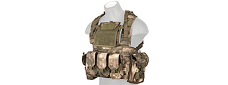 CA-307FN AIRSOFT M4/M16 MOLLE MODULAR CHEST RIG (AT-FG)