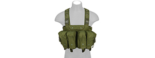 CA-308GN FULLY ADJUSTABLE AK CHEST RIG (OD)