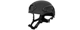 Lancer Tactical CA-333B MICH 2001 NVG Helmet in Black
