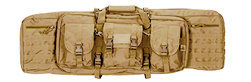 "CA-343T2 MOLLE 42"" DOUBLE GUN BAG (COLOR: TAN)"