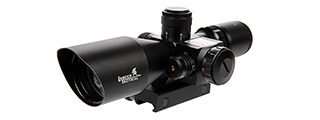 CA-414B 2.5-10X40 ER RED & GREEN DUAL ILLUMINATED SCOPE