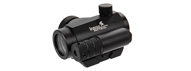Lancer Tactical CA-421B Mini Red & Green Dot Sight w/ Red Laser