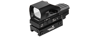 CA-435B 4 RETICLE REFLEX SIGHT W/ BUTTON CONTROL