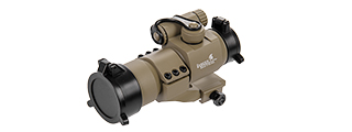 CA-445 RED & GREEN DOT SIGHT W/ RAIL MOUNT (DARK EARTH)