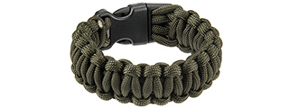 "CA-5030 8"" PARACORD BRACELET W/ LARGE BUCKLE (OD)"