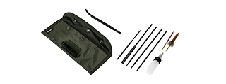CA-5055 M16 RIFLE CLEANING KIT, PLASTIC BOX