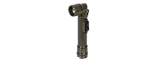 CA-5090 US MIL-SPEC STYLE FLASHLIGHT W/ SWITCHGUARD (OD GREEN)