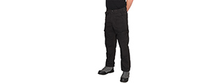 CA-51172B-XS LANCER TACTICAL REINFORCED TACTICAL PANTS X-SMALL(BLACK)