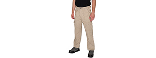 CA-51172K-S LANCER TACTICAL REINFORCED TACTICAL PANTS SMALL (KHAKI)