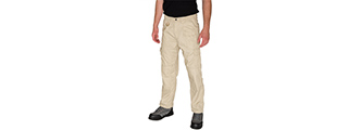 CA-51172T-S LANCER TACTICAL REINFORCED TACTICAL PANTS SMALL (TAN)
