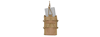 CA-877T M4/M16 SINGLE MAG POUCH (TAN)