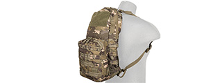 CA-880MT TACTICAL MOLLE HYDRATION BACKPACK (CAMO TROPIC)