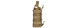 CA-881T TACO POUCH FOR RADIO/CANTEEN (TAN)