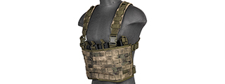 CA-882F LIGHTWEIGHT CHEST RIG W/ CONCEALED MAGAZINE POUCH (AT-FG)