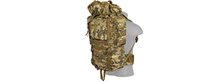 CA-L108C 65L WATERPROOF OUTDOOR TRAIL BACKPACK (CAMO)