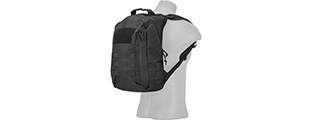 CA-L113B MOLLE ADHESION SCOUT ARMS BACKPACK (BLACK)
