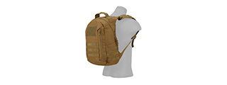 CA-L113CB MOLLE ADHESION SCOUT ARMS BACKPACK (COYOTE BROWN)