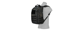 CA-L113MB MOLLE ADHESION SCOUT ARMS BACKPACK (CAMO BLACK)
