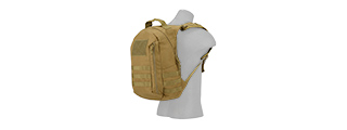 CA-L113T MOLLE ADHESION SCOUT ARMS BACKPACK (TAN)