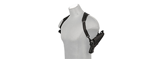 CA-L130 SINGLE PISTOL SHOULDER HOLSTER (BK)