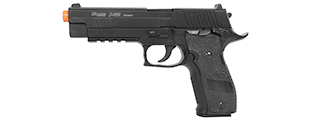 CB-28514 CYBERGUN SIG SAUER FULL METAL P226 X-FIVE CO2 BLOWBACK PISTOL (BK)