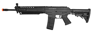 CB-28926 CYBERGUN SIG SAUER 556 RAS FULL METAL AEG RIFLE (BLACK)