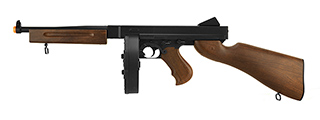 WELL D98 M1A1 WWII SUBMACHINE GUN AEG (FAUX WOOD)
