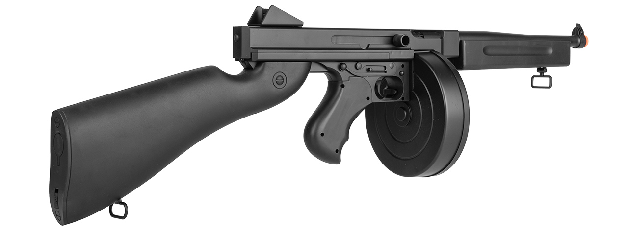 WELL D98 M1A1 WWII SUBMACHINE GUN AEG (BK) - Click Image to Close