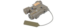 EX176T AN/PEQ-16A INTEGRATED POINTER/ILLUMINATOR MODULE (IPIM) LASER, DARK EARTH