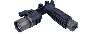 EX202B M910A VERTICAL FOREGRIP WEAPONLIGHT (BLACK)