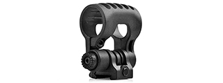 "ELEMENT ADJUSTABLE 1"" TACTICAL FLASHLIGHT MOUNT - BLACK"