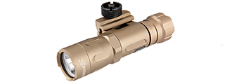 FAST301R-TN TACTICAL 800-LUMEN PICATINNY WEAPON LIGHT (TAN)
