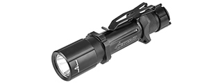 FAST501-BK TACTICAL 1000-LUMEN STROBE FLASHLIGHT (BLACK)