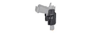 G002 HARD SHELL PISTOL HOLSTER (BK)