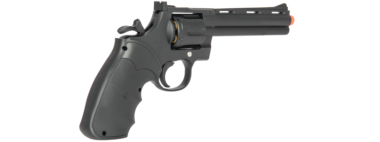 G36B UK ARMS SPRING REVOLVER PISTOL (BLACK)