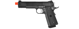 WELL METAL 1911 HI-CAPA TACTICAL GAS BLOWBACK AIRSOFT PISTOL (GRAY)