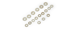 IN0911 AIRSOFT AEG GEARBOX SHIM SET
