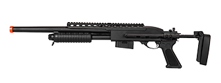 IU-7870 A&K M870 TACTICAL SHOTGUN (BLACK)
