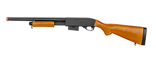 IU-9870A A&K M870 TRAINING SHOTGUN (BLACK)