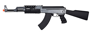 IU-AK47M-NB TACTICAL AK47 RIS AEG w/ FIXED STOCK (BK), NO BATTERY/CHARGER