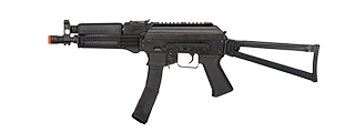 LCT-PP-19-01 VITYAZ AEG AIRSOFT SUBMACHINE GUN W/ STOCK (BLACK)