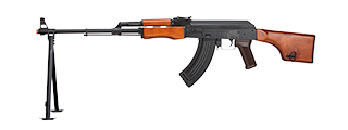 LCT-RPK-AEG LCT AIRSOFT STAMPED STEEL RPK AEG (BLACK/WOOD)
