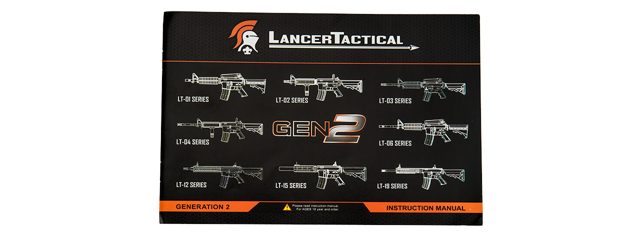 LT-01BL-G2 M4 M933 COMMANDO LOW FPS AEG RIFLE (COLOR: BLACK)