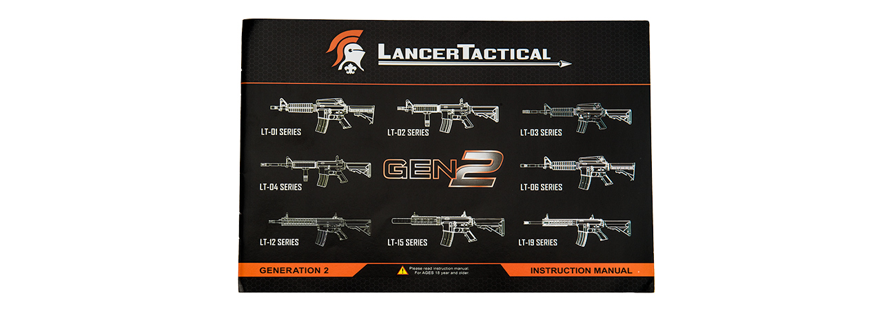 LT-02BL-G2 LOW FPS MK18 NYLON POLYMER MOD 0 AEG AIRSOFT RIFLE (BLACK)