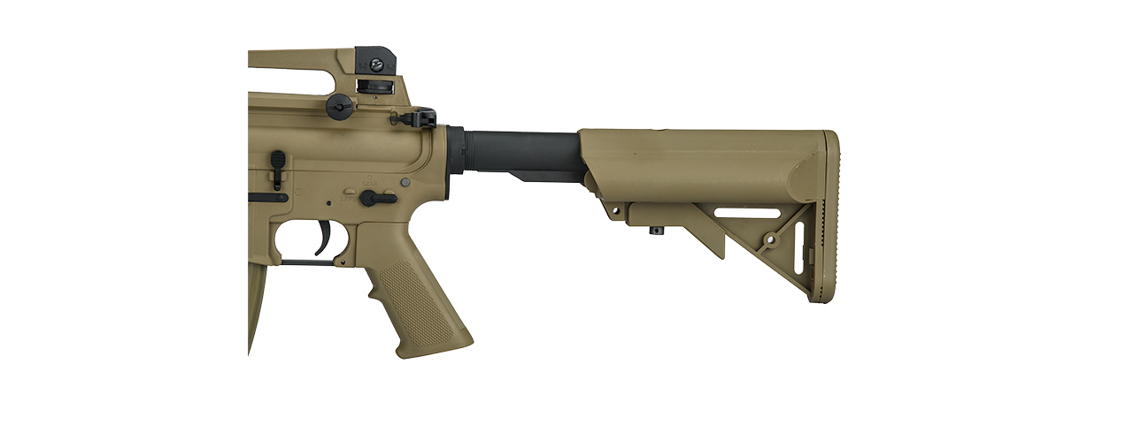 LT-04T-G2 SOPMOD M4 AEG METAL GEAR (COLOR: DARK EARTH)