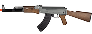 LT-728-NB AK-47 AEG RIFLE (FAUX WOOD), NO BATTERY/CHARGER