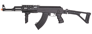 LT-728U-NB TACTICAL AK AEG RIFLE w/ FOLDING STOCK (BK), NO BATTERY/CHARGER