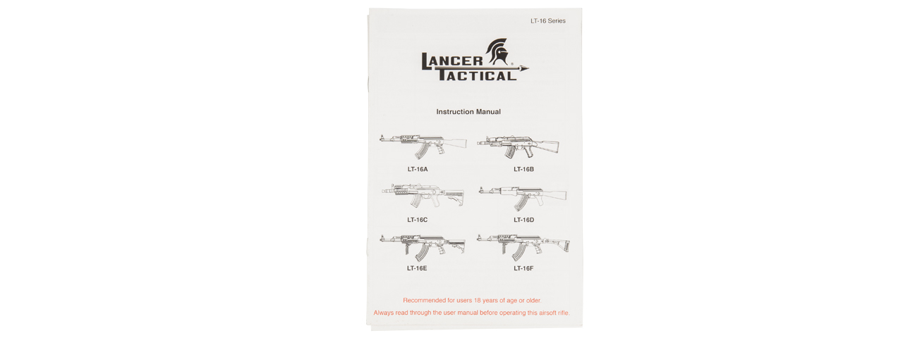 LT-728 LANCER TACTICAL AK-47 AEG RIFLE (FAUX WOOD)
