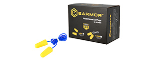 M02 NOISE REDUCTION EAR PLUGS (CORDED)